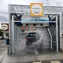 Automatic Rollover car wash system