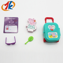 Mini Kids Educational Toys Travel Set Toy Suitcase For Gifts