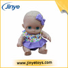 Plastic chubby doll chubby doll with baby portable cradle