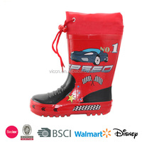 2016 kids cars and speed boys rain boots