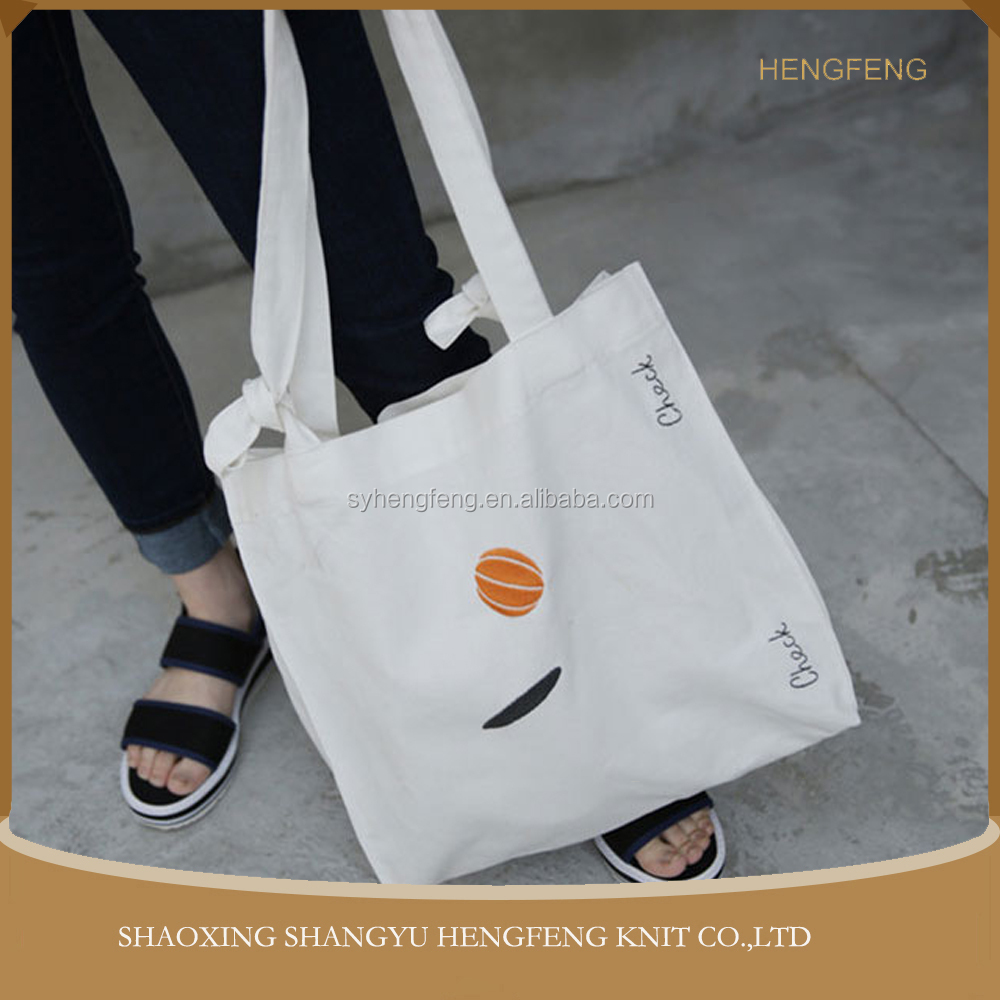 Wholesale China manufacturer shoulder canvas tote bag/custom grocery packing 100 cotton canvas tote bag
