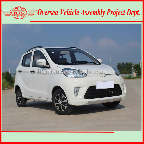 5KW 72V pure electric car for both CBU importing and SKD/CKD assembly