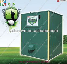 Golf ball dispenser with Token/Bill/smart card available