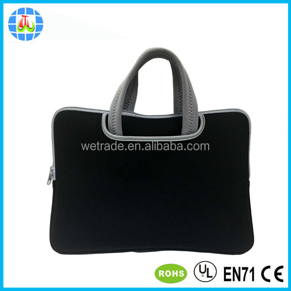17 inch neoprene laptop sleeve cover case bag with handle