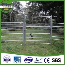 wholesale Australia cattle yard panel fence portable metal galvanized used livestock panels
