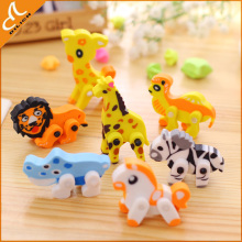 Kid funny animal shape eraser