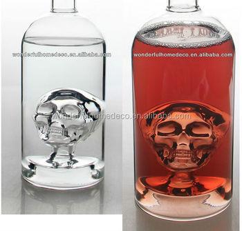 Custom Glass Bottle Decorative Glass Bottles Fancy Liquor
