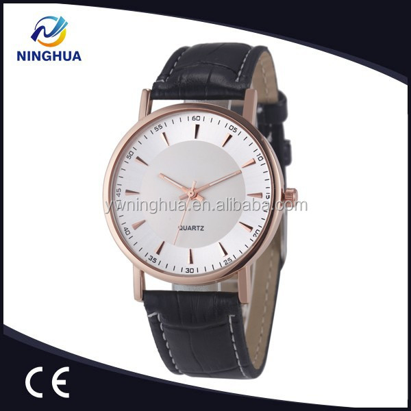 Leather Strap Newest Style Female Watch Rose Gold Gifts High Quality Quartz Movement SL68 Wristwatch