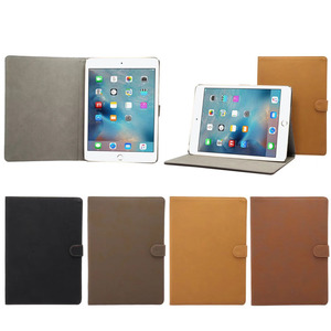 4 Colors Available Retro Design PU Leather Protective Case for iPad 2017