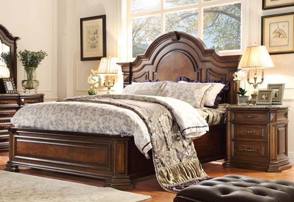 Wholesale national new classic american style bedroom furniture ...