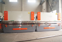 Double unit CNC press brakes 2 steel bending machines join together