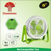 2016 new usb mini desk fan with lithium battery