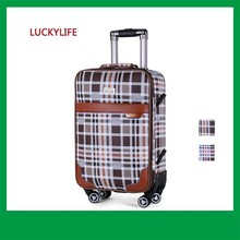 cool fashion 360 Degree wheels royal king travel luggage case