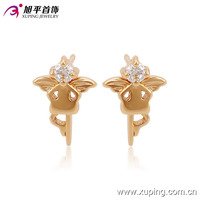 90999-xuping high quality cheap new gold design earrings for women