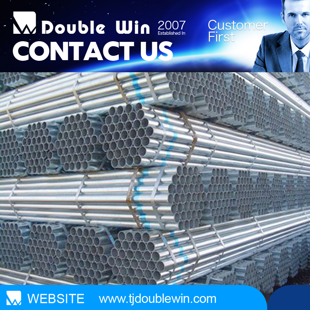 steel company hot sale seamless galvanized pipeline construction