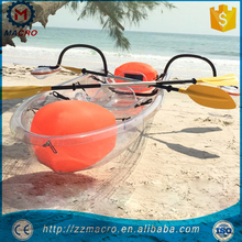 Sit On Top Fishing Clear Kayak Con Pedales Ocean Paddle Boat