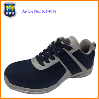 Promotional high ankle steel toe safety shoes