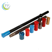 7 degree tapered mining chisel cross button bits
