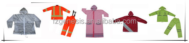 #FGAP003 pvc bicycle rain poncho