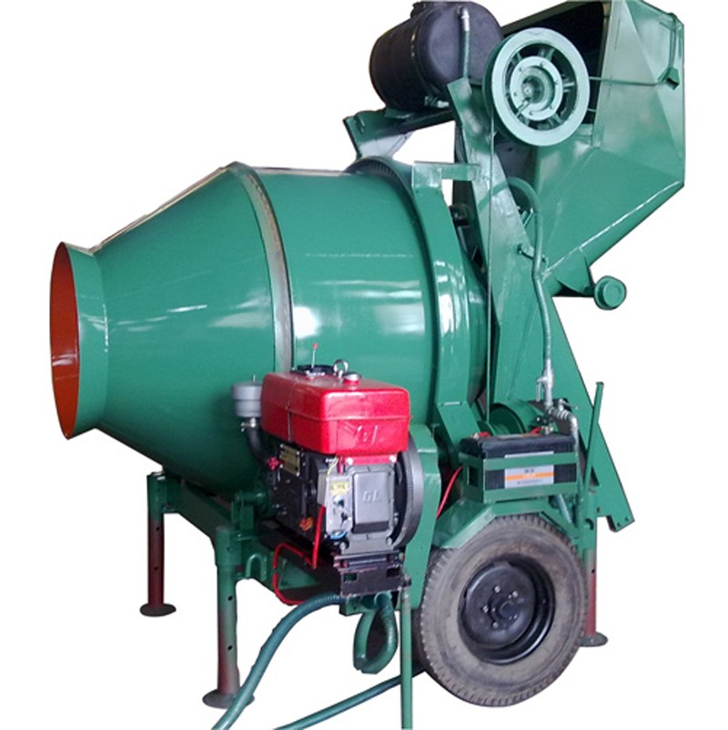 Industrial equipment jzr350 the small mobile diesel motor for Cement mixer motor for sale