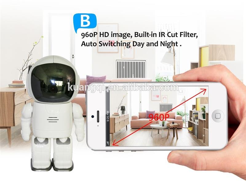 Multifunctional wireless robot wifi ip camera ir 15 mp h.264 p2p ip camera security camera wifi for wholesales