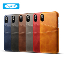 B1801 New Product Mobile Phone Back Cover Case Custom Business Pu Leather Wallet Cell Phone Case For Iphone X Case Luxury