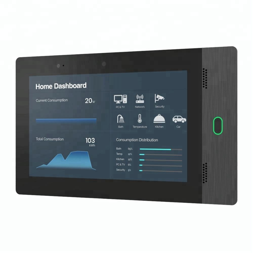 Newest Customized Industrial Grade <strong>10</strong>.1&quot; Android POE Touch Tablet With Front Proximity Sensor