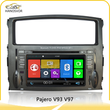 car dvd gps player for mitsubishi pajero v93/v97