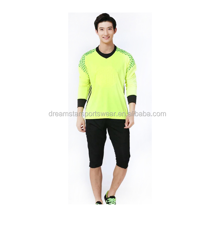 Football Goalkeeper Jersey Clothes In Stock