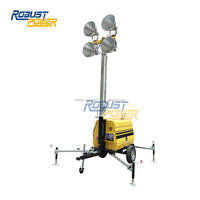 9m Industrial Mobile Light Tower /big power diesel generator set