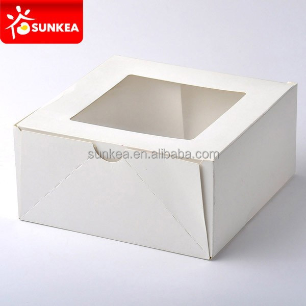Buy Cake Boxes Wilton White Square Corrugated Cake Box 2