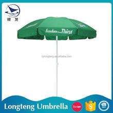 Top quality 10 years experience Sunshade 8 steel ribs inside full printed umbrella