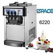 table top soft ice cream machine with small size 6220