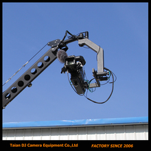 Remote 3 axis PTZ head professional jimmy jib Video Camera Crane for sale