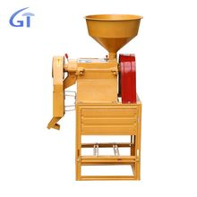 Multi-Functional Family Single Rice Mill With Diesel Engine