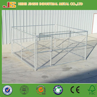 4' x 6' x 6' high quality easy assembled galvanized outdoor chain link dog kennel/large dog fence