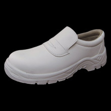 Antistatic Food Medical Shoes Micro Fiber White Safety Shoes