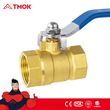 screw port thread connector series double inside silk brass ball valve