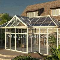 New Products Luxury Aluminium Frame with Glass Prefabricated Winter Garden Rooms for Sale