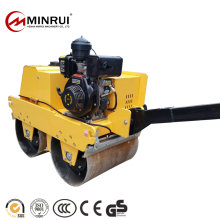 New promotion double drum gasoline handheld vibratory road roller With made in China