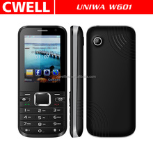 2.4 Inch screen Dual SIM GSM WCDMA 3G Feature phone UNIWA WG01 Low cost 3G mobile phone