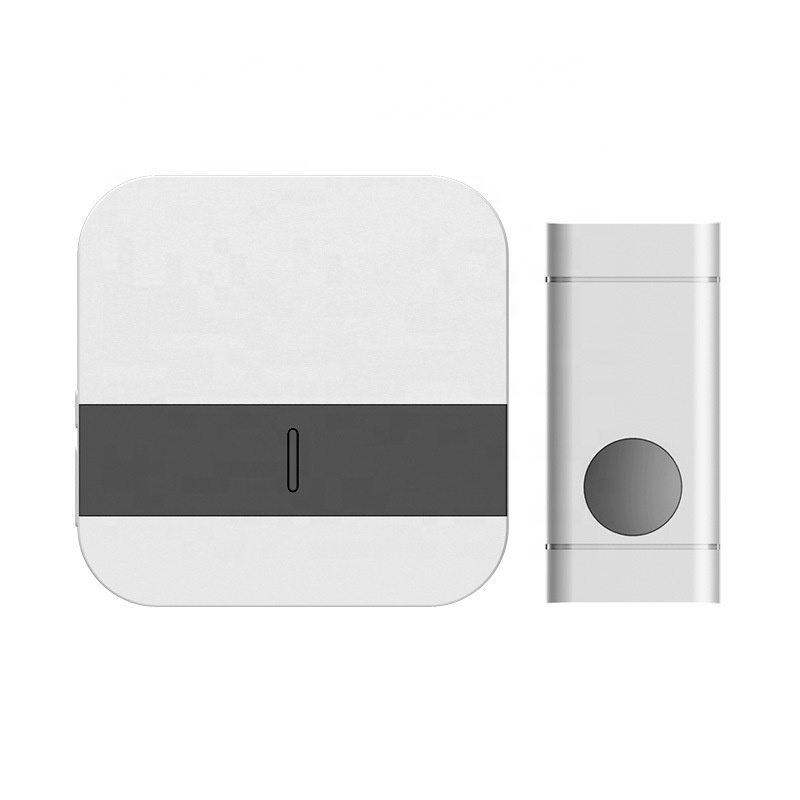 150m Free-barrier Transmission Wireless Self-powered Smart Doorbell With 58 chrime