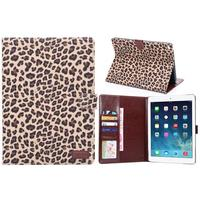 Hybrid leather+PC hard case for ipad air 2