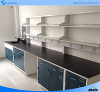 Metal Laboratory Furniture/ Physics Lab Workbench Design