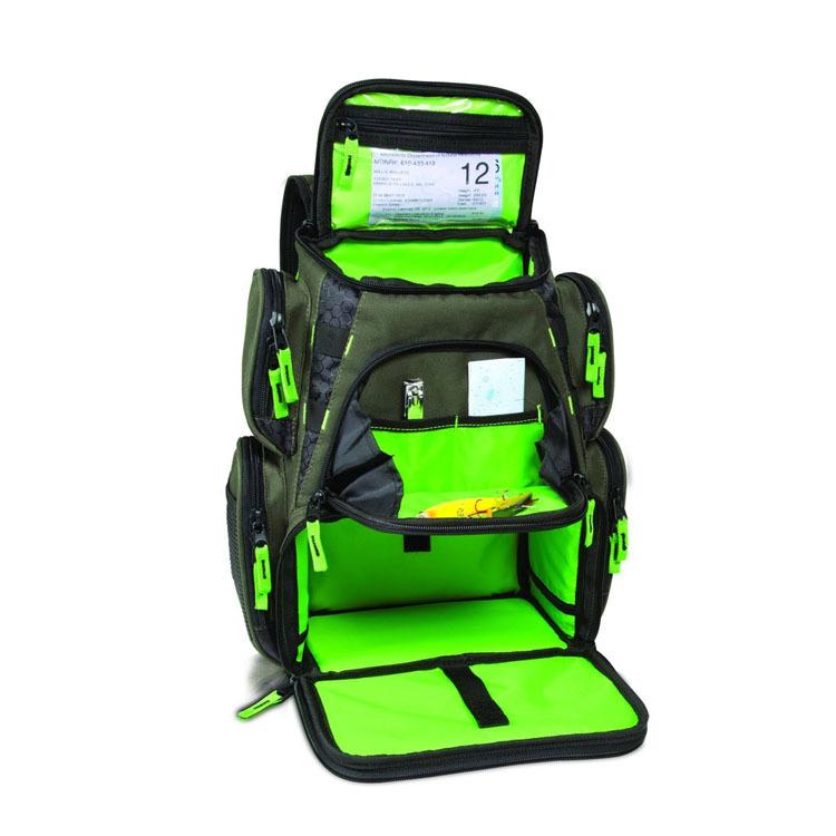 Bsci audit factory cheap fishing tackle bag fashion green for Buy fishing license at walmart