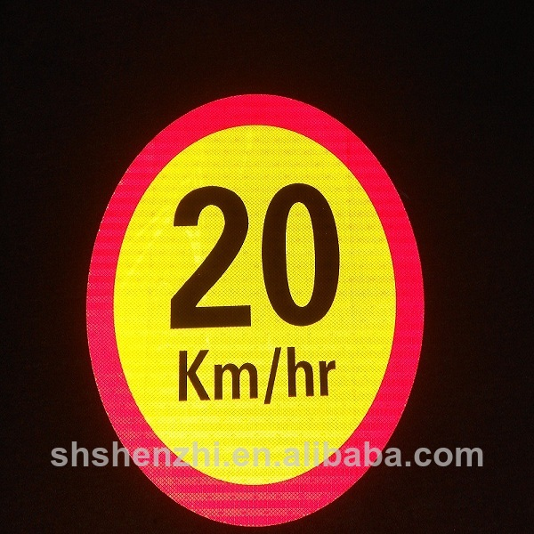 reflective road traffic sign safety signs