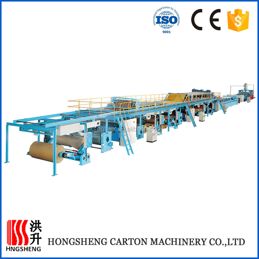 Dongguang corrugated cardboard making machine