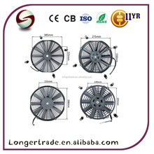 12V DC Car cooling fan straight blade for OEM 88590-60060
