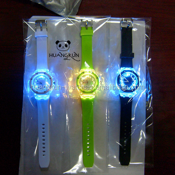 Promotion fashion Tokyo unisex usb flash led watch for children gift