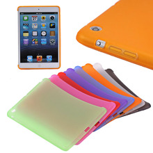 Hot selling Matte soft TPU case cover for iPad mini 1 2 3 tab